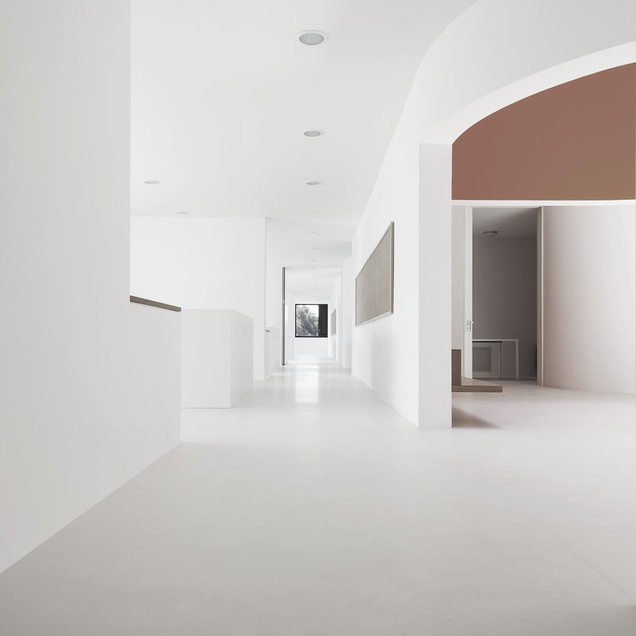 White Concrete Floors
